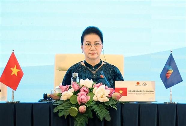 AIPA 41: 越南在东盟议会联盟大会主席年内做出积极贡献 hinh anh 2