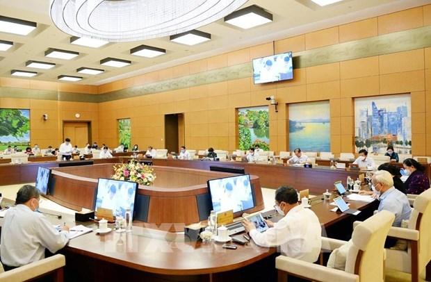 越南国会常委会第48次会议今日举行 hinh anh 1