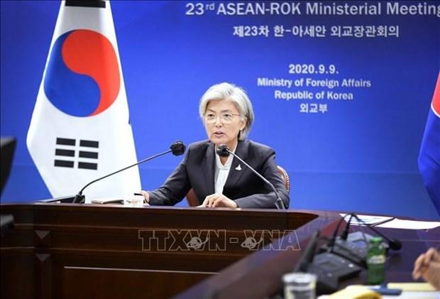 韩国努力恢复与朝鲜的对话机制 hinh anh 1