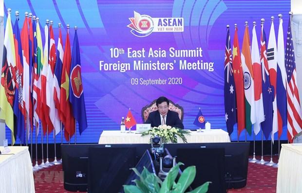 ASEAN 2020:东盟轮值主席国越南为AMM 53付出努力 hinh anh 1