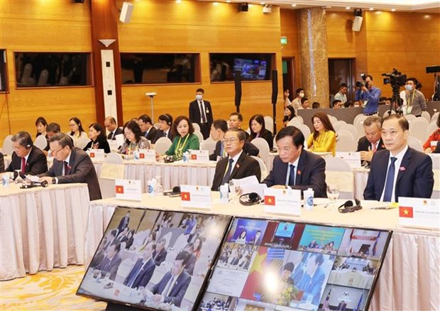 第41届东盟议会联盟大会第二场全体会议通过联合公报 hinh anh 3