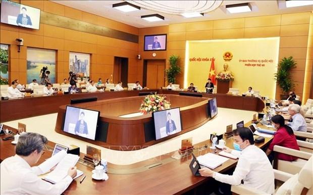 越南国会常委会第48次会议召开 hinh anh 1