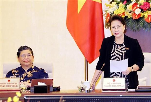 越南国会常委会第48次会议召开 hinh anh 2