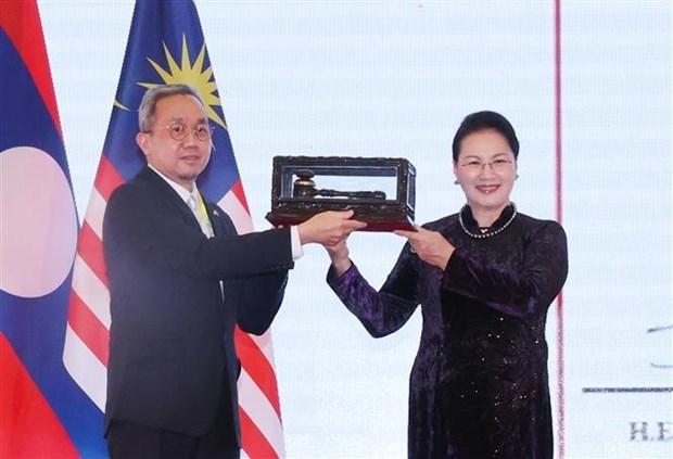 AIPA 41:文莱议会议长高度评价越南在担任AIPA 41轮值主席任期内所取得的突出成果 hinh anh 2