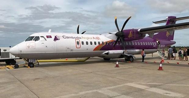 柬埔寨吴哥航空各航班从9月15日起恢复运营 hinh anh 1