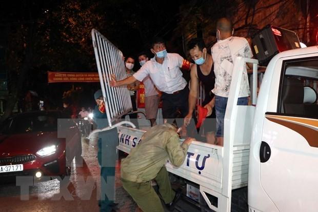 海阳省许多居民区和街道解除隔离 hinh anh 1