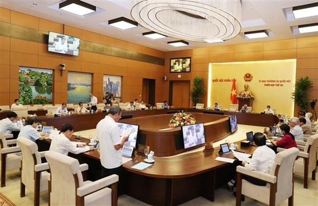 国会常委会第48次会议:刑事案件起数同比下降3.19% hinh anh 1