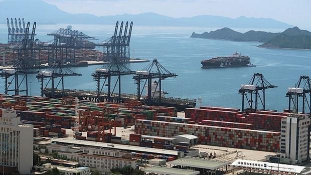 东盟-中国贸易金额猛增 hinh anh 1