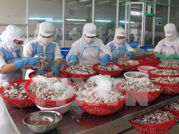12家越南企业重新获批向沙特阿拉伯出口海产品 hinh anh 1