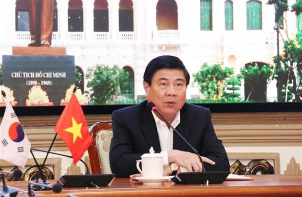 胡志明市加强与韩国大邱市的合作 hinh anh 2