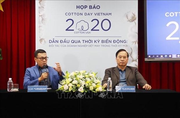 越南今年最大的棉花日活动将以视频方式举行 hinh anh 1