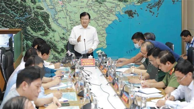 越南政府总理关于应对第五号台风的通知 hinh anh 1