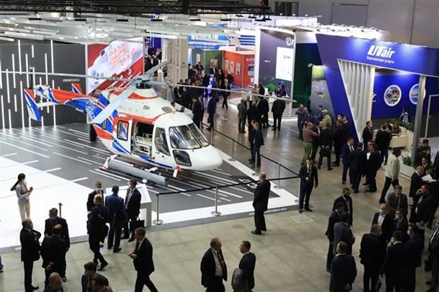俄直升机集团公司总经理高度评价越南市场的优势 hinh anh 1