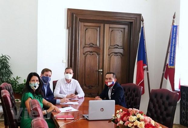 越南岘港市与捷克布尔诺市面向建立友好合作关系 hinh anh 2