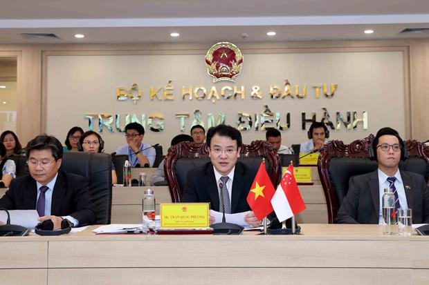 越南与新加坡促进投资营商活动 hinh anh 1