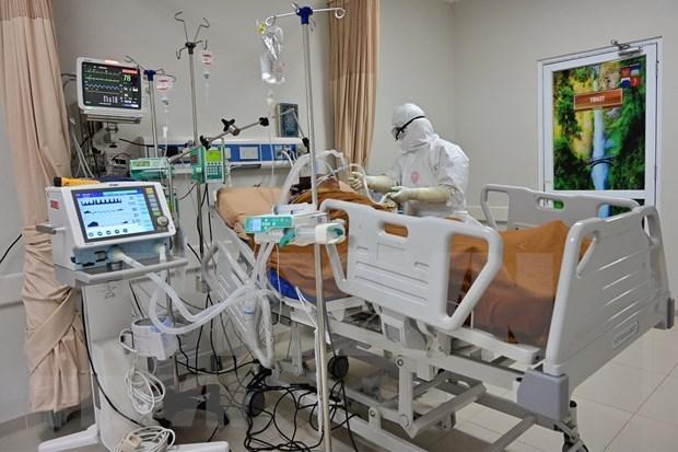 新冠肺炎疫情:菲律宾和印尼单日新增新冠确诊病例再超千例 hinh anh 1