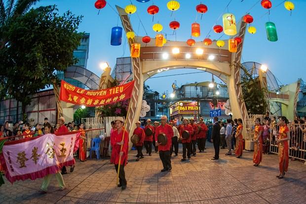 胡志明市华人元宵节被公认为国家级非物质文化遗产 hinh anh 2