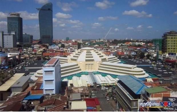 2020年前8月柬埔寨与美国贸易金额增长近17% hinh anh 1