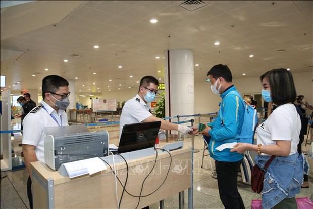 越南卫生部发布指南 就入境人员临时管制措施作出引导 hinh anh 2