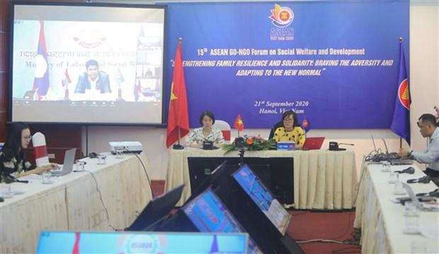 ASEAN 2020:社会福利与发展论坛召开 hinh anh 1