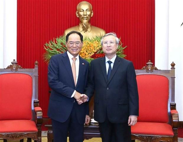 越南与韩国促进新形势下的关系 hinh anh 2