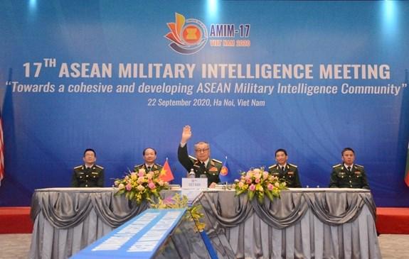 力争建设具有凝聚力与向前发展的东盟国防情报共同体 hinh anh 1