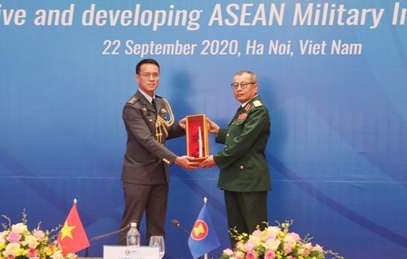 力争建设具有凝聚力与向前发展的东盟国防情报共同体 hinh anh 2