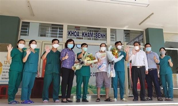 岘港市最后一名新冠肺炎确诊患者治愈出院 hinh anh 1
