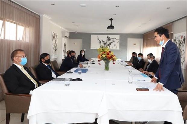 东南亚各国驻南非大使高度评价越南的作用 hinh anh 1