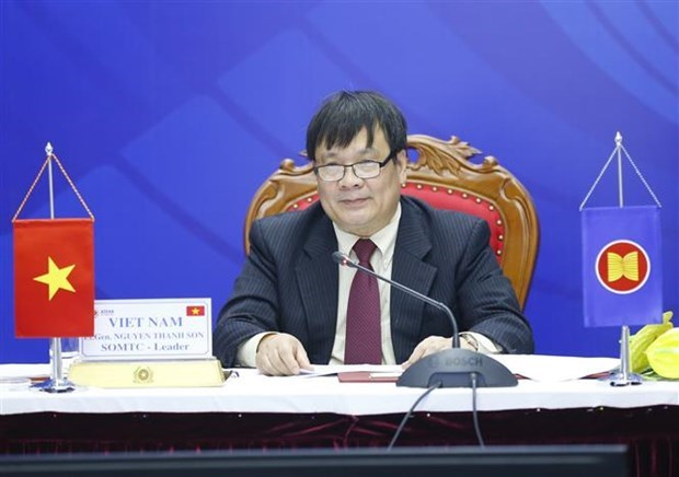 越南出席第20届东盟打击跨国犯罪高官会议 hinh anh 2