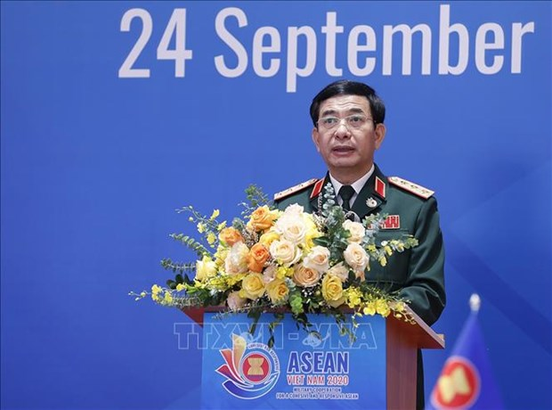 ASEAN 2020:提升军事合作现有机制的效率 hinh anh 1
