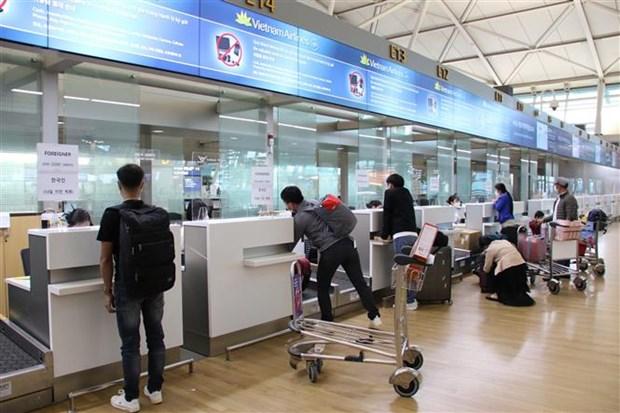 韩国仁川至越南河内商业航班正式恢复运营 hinh anh 1