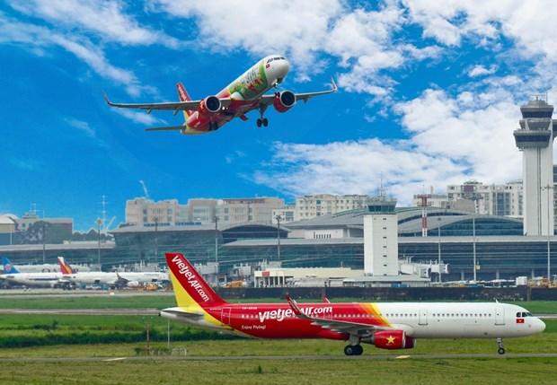 越捷航空恢复飞往韩国的航线 推出升级的SkyBoss 舱和Deluxe舱机票 hinh anh 1