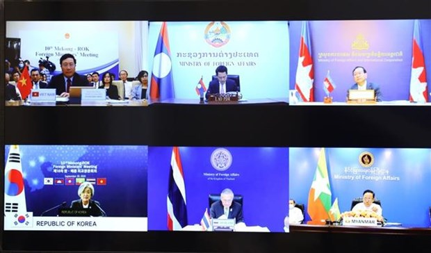 第十届湄公河-韩国外交部长会议召开 hinh anh 2