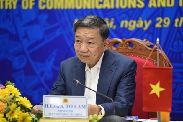 越南与新加坡加强网络安全领域的合作 hinh anh 2