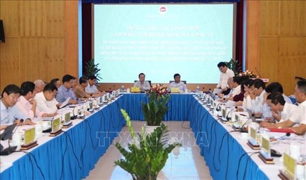 阮志勇部长:需要加大革新力度以实现经济快速且可持续发展目标 hinh anh 1