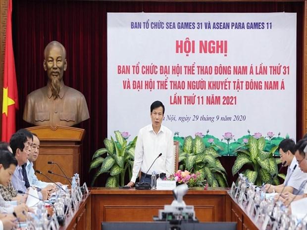 越南为第31届东运会和第11届东南亚残运会作出积极准备 hinh anh 1