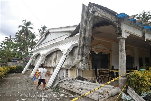 菲律宾南部发生5.2级地震 hinh anh 1