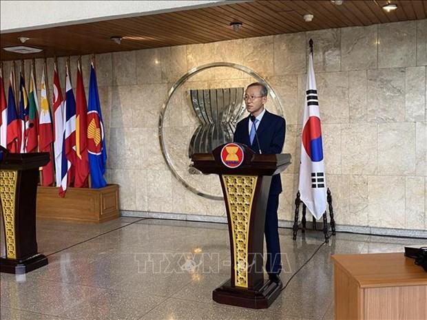 韩国援助东盟各国开展技术培训和教育工作 hinh anh 1
