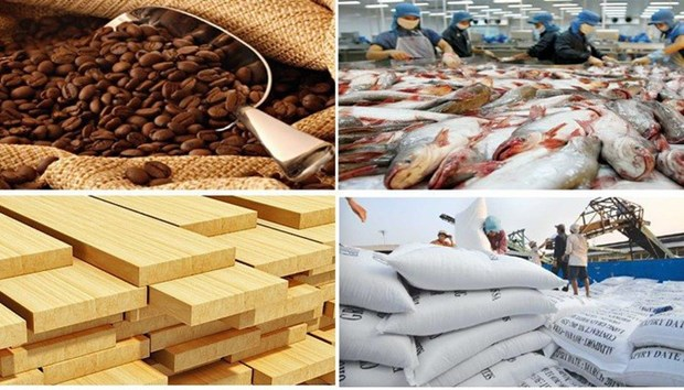 今年前9月越南农林水产品贸易顺差72.5亿美元 hinh anh 1