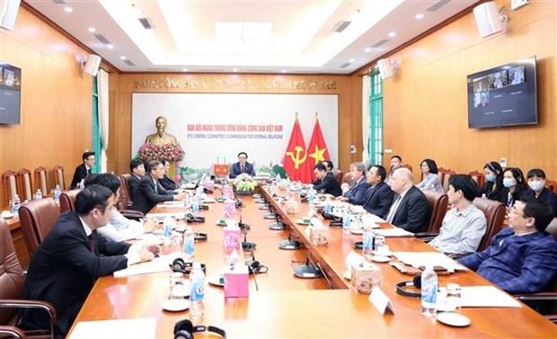 越南共产党与英国全党议会团体举行第一次对话 hinh anh 1