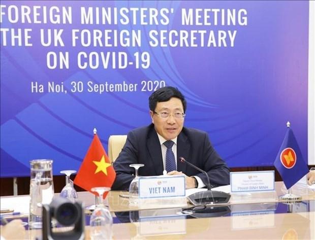 越南政府副总理兼外长范平明:越南支持消除和不扩散核武器的一切努力 hinh anh 1