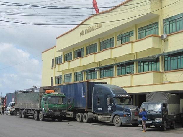 广宁省卡龙口岸拟于10月中旬恢复通关 hinh anh 1