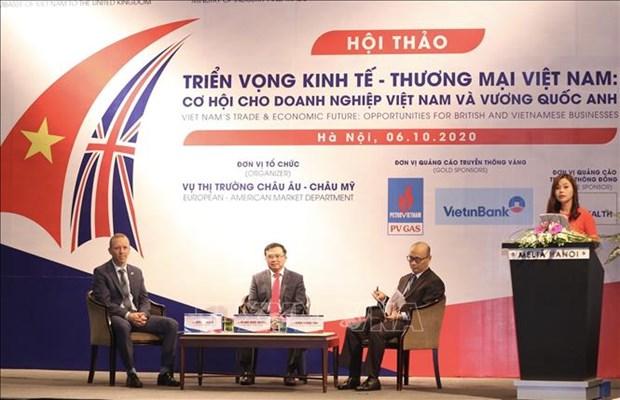 英国对越南的投资项目400个 hinh anh 1
