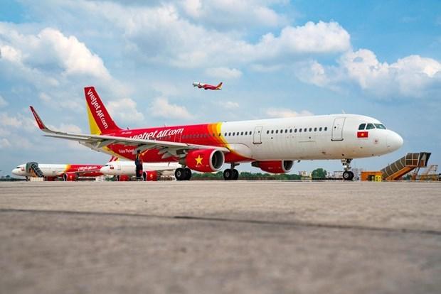 越捷航空推出订票和预定5星级酒店的50%优惠活动 hinh anh 1