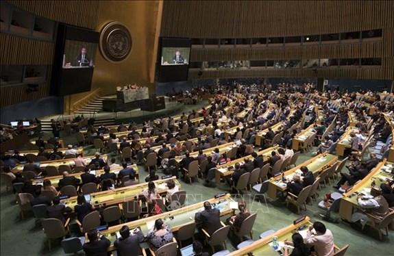 越南代表团积极参加联合国人权理事会第45次会议 hinh anh 1