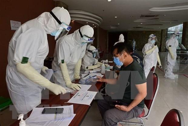 新冠肺炎疫情:印尼近20名议员感染病毒 菲律宾新增2800例病例 hinh anh 1