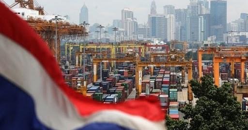 泰国跨境贸易下降7.42% hinh anh 1