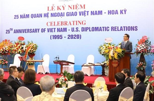 越南-美国建交25周年纪念仪式在河内举行 hinh anh 2