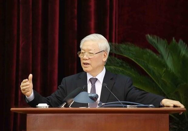 迎接越共十三大:越南共产党第十二届中央委员会第十三次全体会议圆满闭幕 hinh anh 2